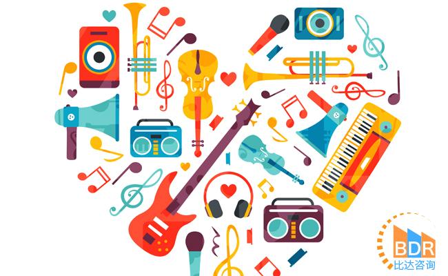 比达咨询:我国数字音乐发展迅速 2017年市场规模达180亿