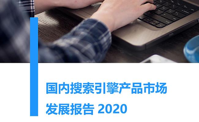 国内搜索引擎产品市场发展报告2020